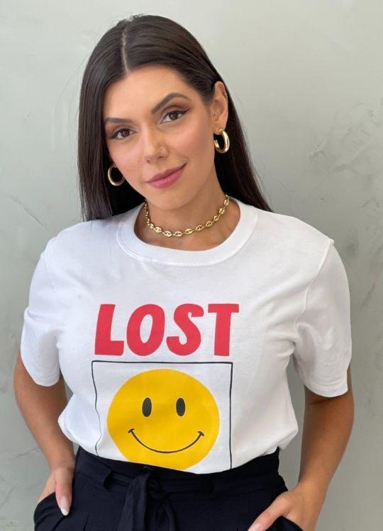 Camiseta Algodão Lost