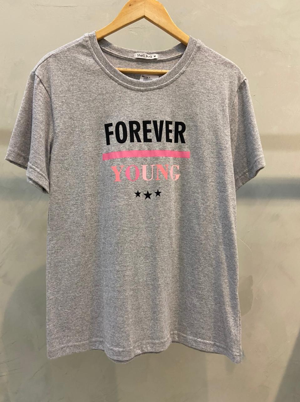 Camiseta de Algodão forever