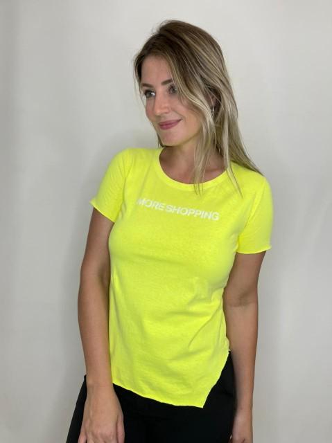 Camiseta de Algodão More Shopping