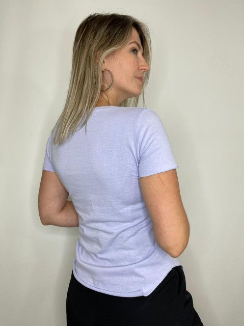Camiseta Podrinha Azul Bebe