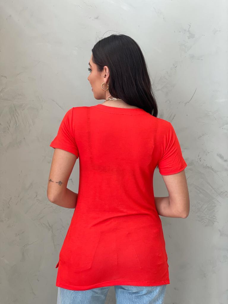 Camiseta Podrinha laranja