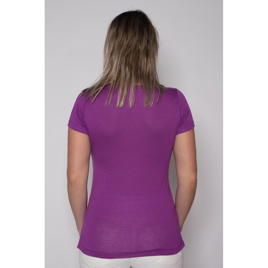 Camiseta Podrinha Roxa
