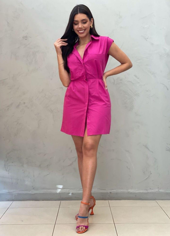Chemise pink