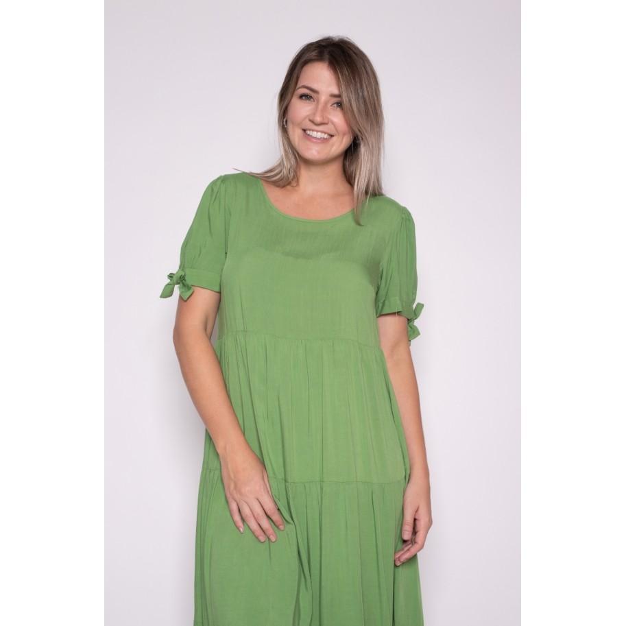 Vestido Amplo Verde