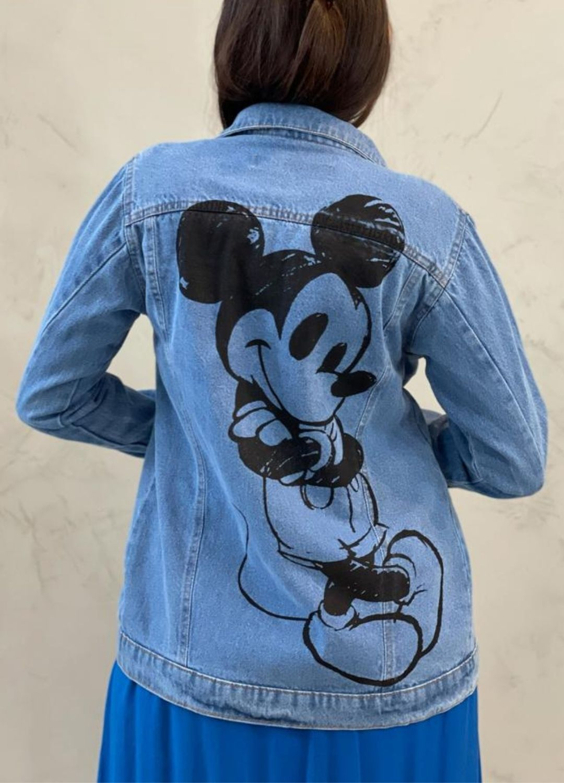 Jaqueta Jeans Mickey