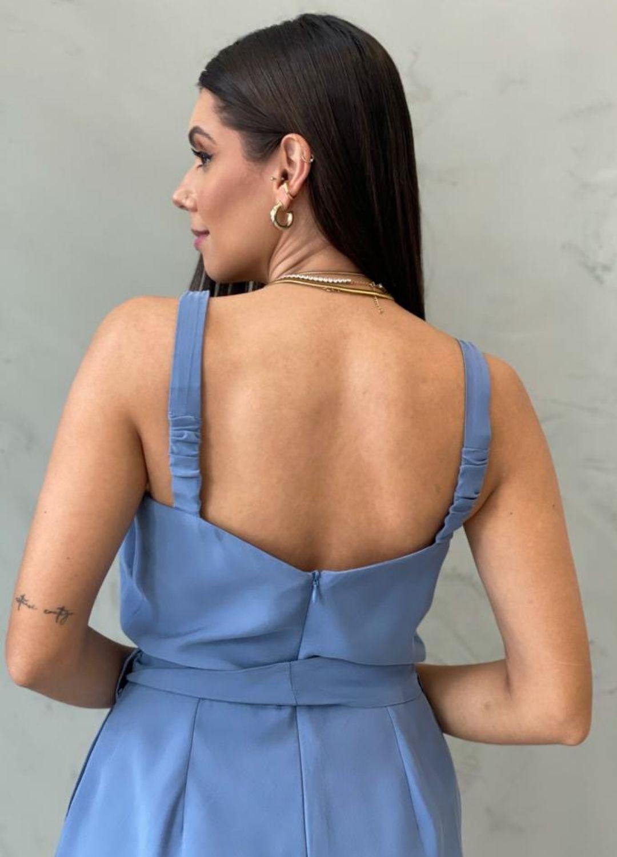 Macaquinho Azul Claro