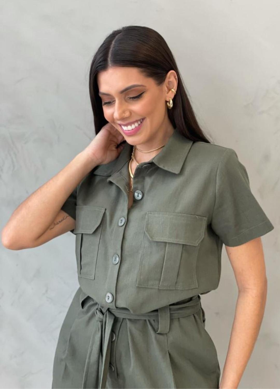 Macaquinho Verde Militar