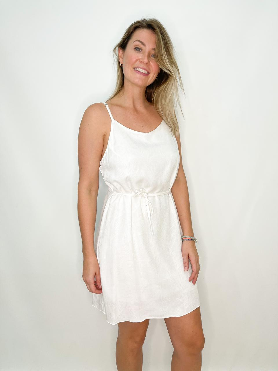 Vestido Branco Reto