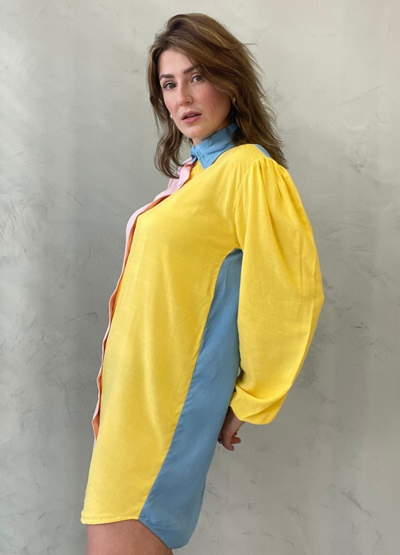 Vestido Chemise Colors