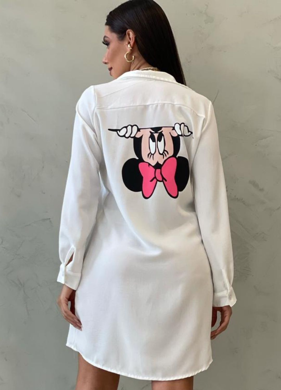 Vestido Chemise Minnie OFF