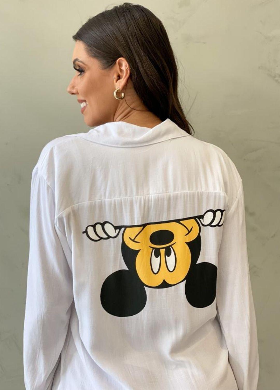 Vestido Chemise Mickey