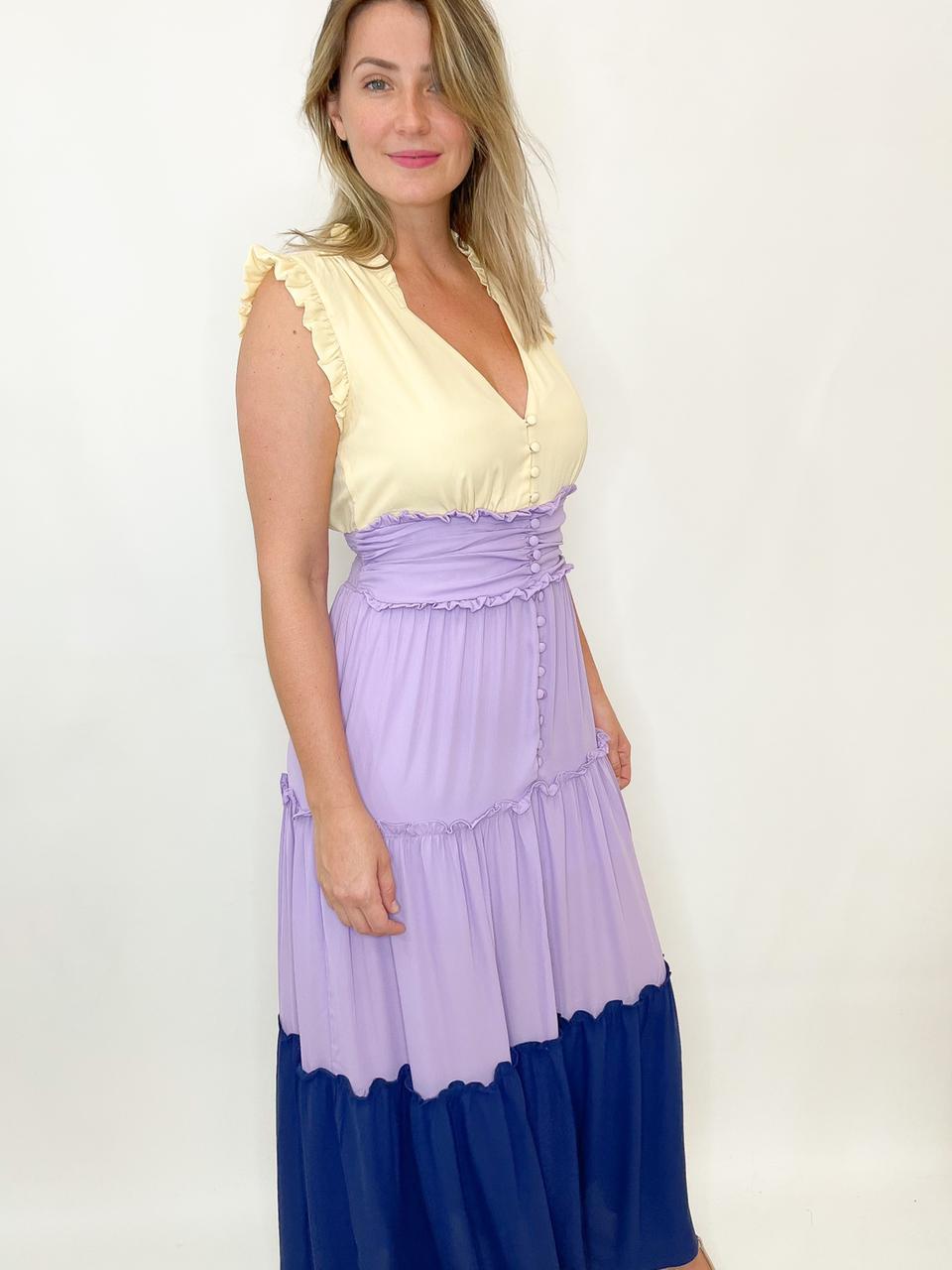 Vestido Marias colorido