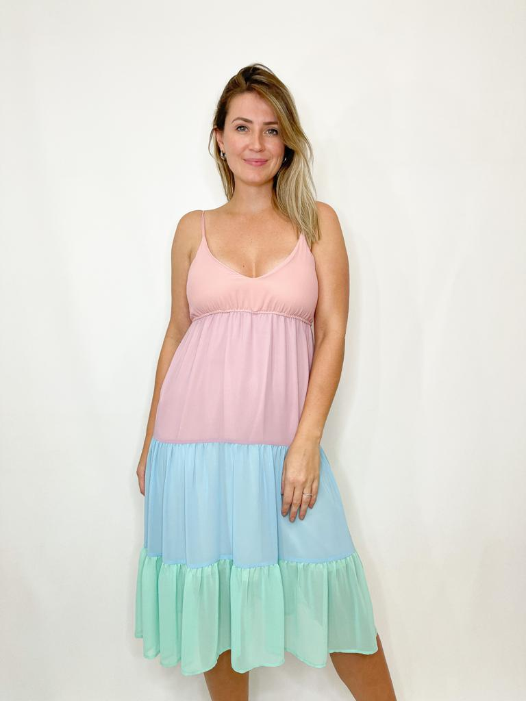 Vestido Midi Colors