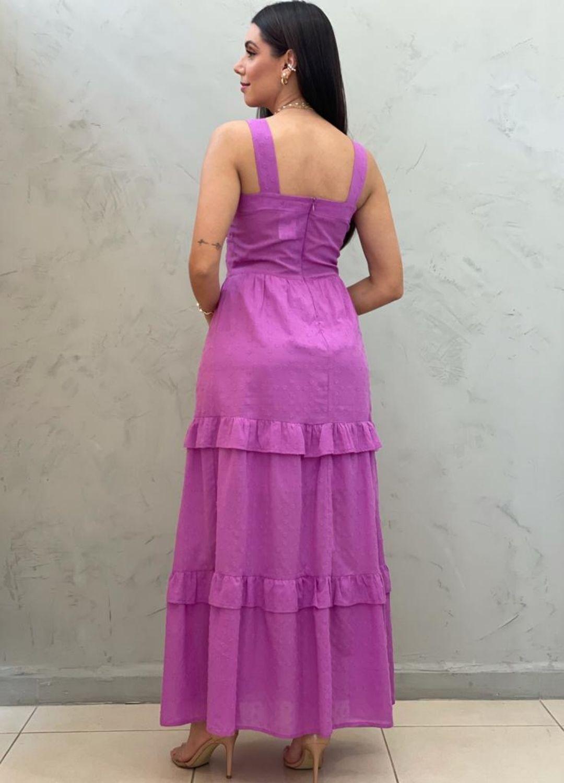 Vestido Midi Fúcsia