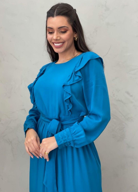 Vestido midi ML azul