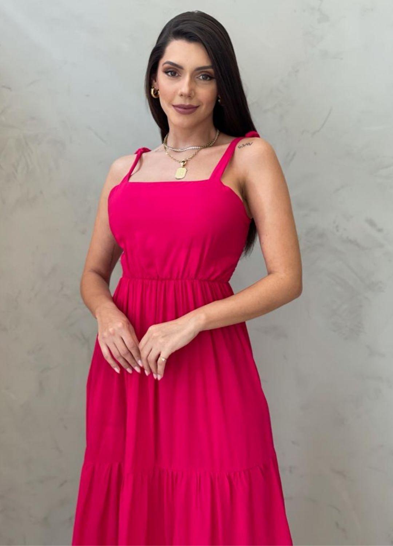 Vestido Midi pink