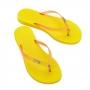 Chinelo Melissa Sun Venice Amarelo
