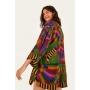 Colete Kimono Farm Multicolor