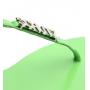 Sandália Rasteira Schutz Verde