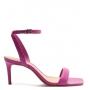 Sandália Salto Baixo Schutz Pink