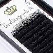 Cílio Curvatura de extensão de cílios Graftingeyelash 8mm