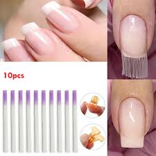 Fiberglass For Nail Extension  10 Unidades