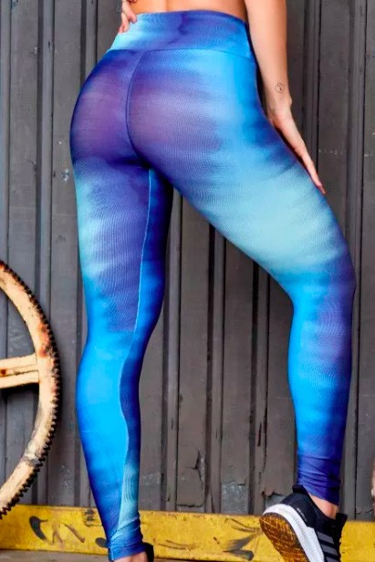 Legging Blue Sea Win