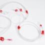 Linha de sangue arterial 8 mm sem catabolha [Caixa com 48]
