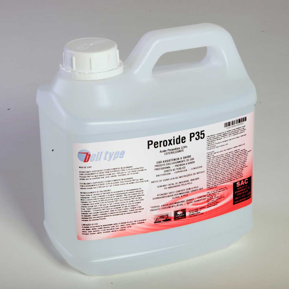 Acido Peracético 3.5% Especial para Hemodiálise [BB 5L]