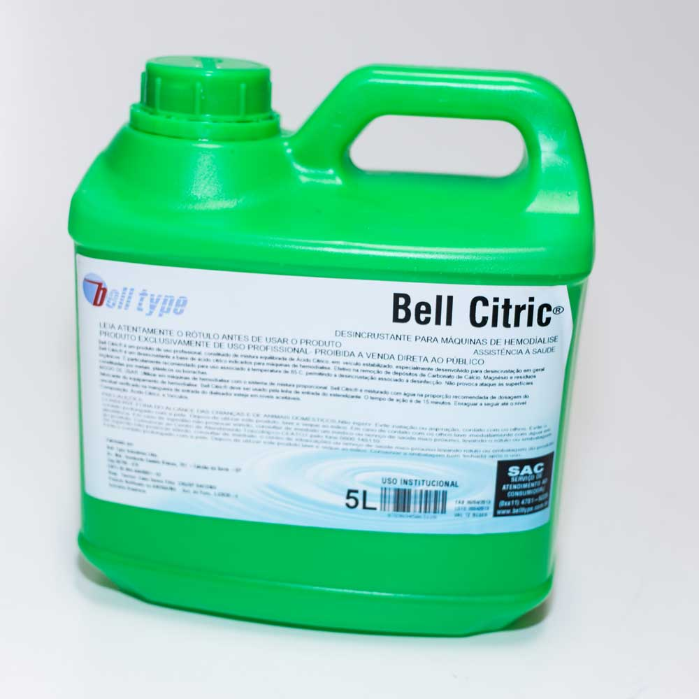 Desinfetante Bell Citric 50% BB [BB 5L]