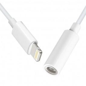 Adaptador Lightning Para Aux P2 fêmea iPhone 7 / 8 / X Cabo Mh020
