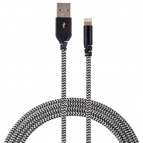 Cabo Lightning Force Cable com Kevlar - Easy Mobile