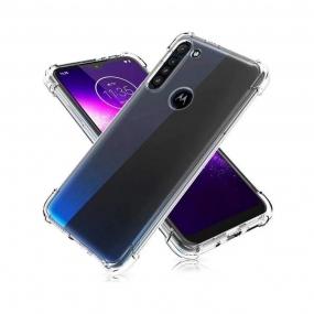 Capa Anti Shock Samsung Motorola G8 Power Lite - TRANSP