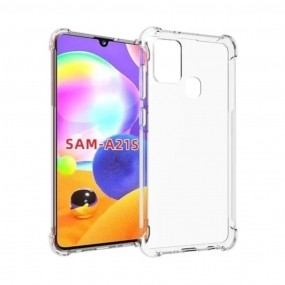 Capa Anti Shock Transparente Samsung Galaxy A21s