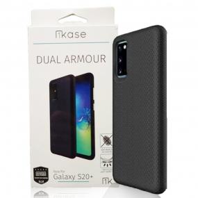 Capa Dual Armour Ikase Samsung Galaxy S20 Plus - PRETO