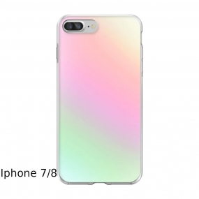 Capa Holográfca Iphone 7 e 8