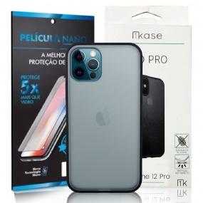 Capa Ikase Evo Pro + Película Nano Premium - Iphone 12 /12 Pro