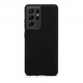 Capa Soft Touch Samsung S21 Ultra - Customic - PRETO