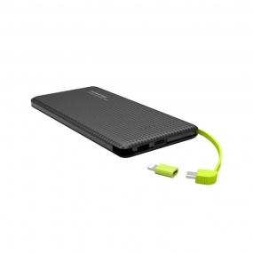 Carregador Portátil Pineng Power Bank Slim Pn-951 10.000mAh