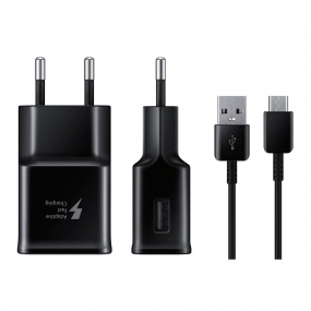 Carregador Samsung Fast Charge + Cabo Tipo C