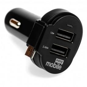 Carregador Veicular Turbo Easy Mobile Smart Car 6.0A