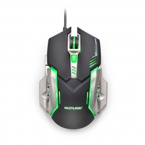 Mouse Gamer MO269 Multilaser - GRAFITE
