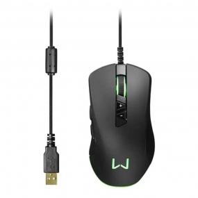 Mouse Gamer Warrior Moray MO278 Multilaser - PRETO