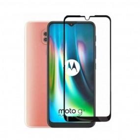 Película 3D de Vidro Temperado Motorola Moto G9 Play Tela Toda