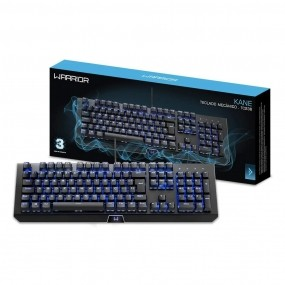 Teclado Mecânico Gamer Led Warrior Kane TC236 Mutilaser