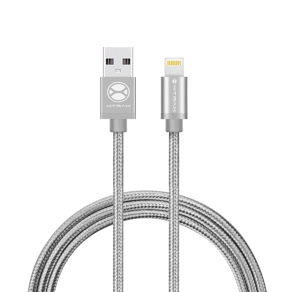 Cabo Lightning Xtrax MFI Homologado Apple 1,5 metros