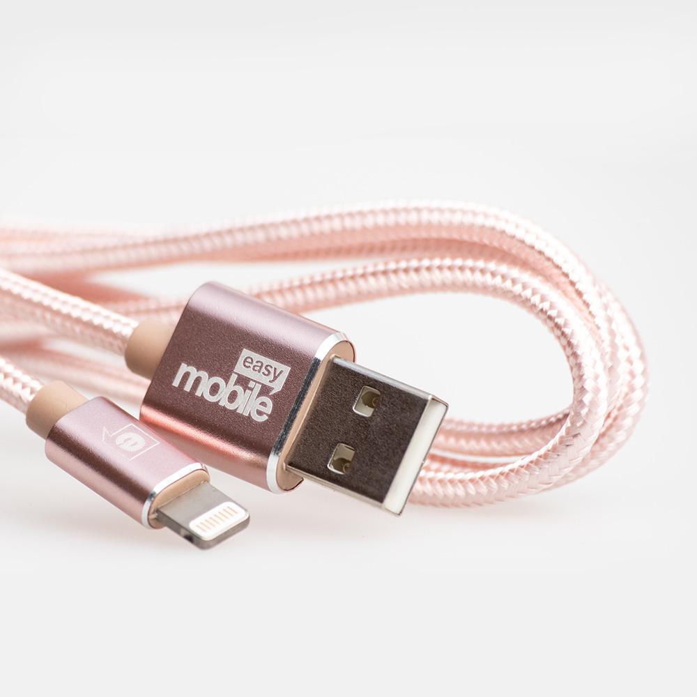 Cabo Premium USB - Lightning - Easy Mobile