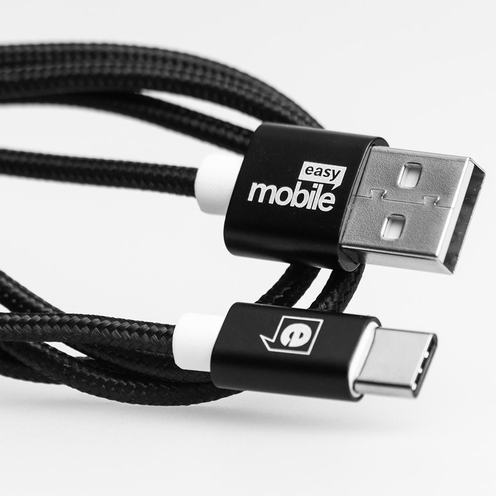 Cabo Premium USB -Tipo-C -Easy Mobile