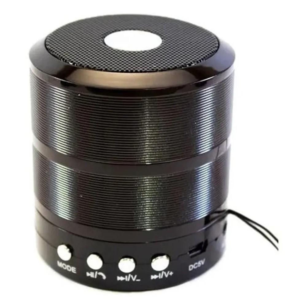 Caixinha de Som Bluetooth Ws 887 Speaker - 1UNICA