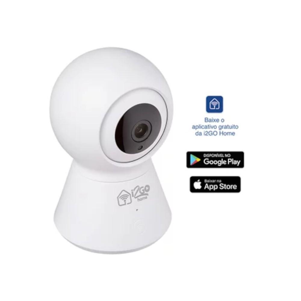 Câmera Inteligente 360º Wi-Fi - I2GO Home